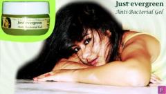 Just evergreen Anti-Bacterial Gel. Purely Herbal Product.